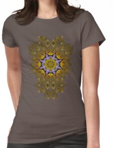Fractal manipulation Womens Fitted T-Shirt