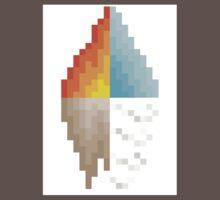 Elements Pixel Art Work One Piece - Short Sleeve