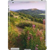 British Camp in late Summer . Malvern Hills iPad Case/Skin