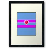 Frisk's Soul Framed Print