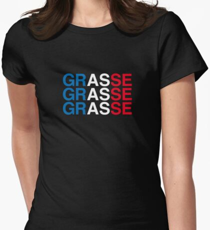 GRASSE Womens Fitted T-Shirt