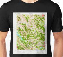 USGS TOPO Map California CA Briones Valley 288608 1959 24000 geo Unisex T-Shirt