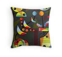 Happy day 2 Throw Pillow