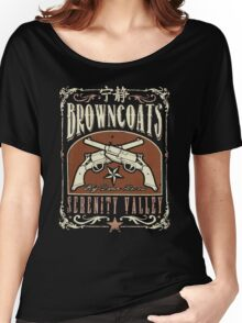 Firefly Browncoats Serenity Valley Women's Relaxed Fit T-Shirt