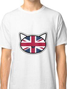 Meow Union Jack Classic T-Shirt