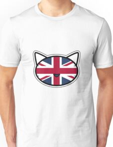 Meow Union Jack Unisex T-Shirt