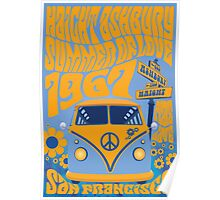 Haight Ashbury Summer Of Love Poster