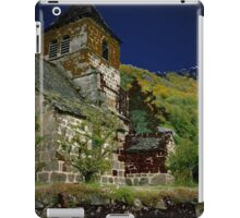 Blue church iPad Case/Skin