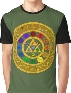 Wheel of the Hero of Time Graphic T-Shirt