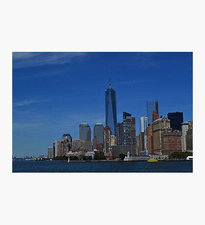 Downtown Manhattan Photographic Print