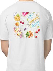 """wall art """"like a light summer breeze"""" Classic T-Shirt"""