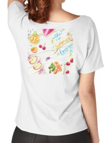 """wall art """"like a light summer breeze"""" Women's Relaxed Fit T-Shirt"""
