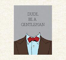 Dude, Be A Gentleman Bowtie Pullover