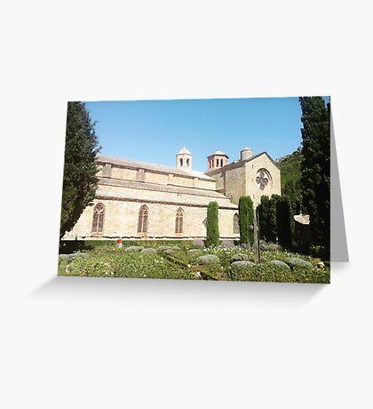 Abbaye de Fontfroide, France Greeting Card