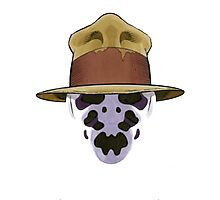 Rorschach - Watchmen Photographic Print
