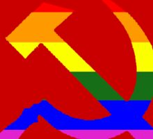 Gay communist pride  Sticker