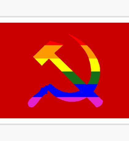Gay communist pride  Sticker