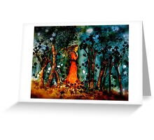 The Wanderer... Greeting Card