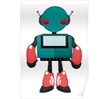 Robot Character #91 Poster