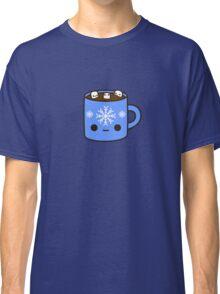 Mug of hot chocolate with cute marshmallows Classic T-Shirt