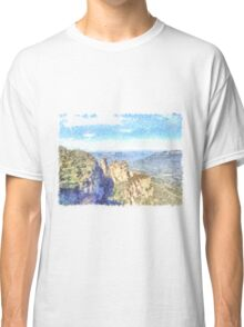 Sunset on the water Classic T-Shirt