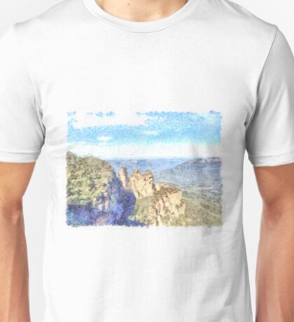 Sunset on the water Unisex T-Shirt