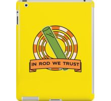The Simpsons: In rod we trust iPad Case/Skin