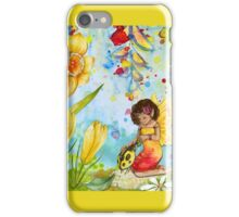 Fairy and The Ladybug  iPhone Case/Skin