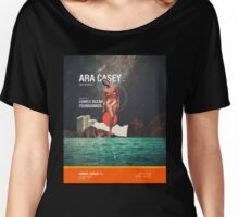 Ara Casey/Anon Bee Release Party Gig Poster  Women's Relaxed Fit T-Shirt