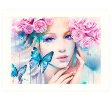 Pink Constellation Art Print