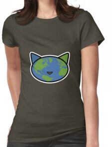 Meow World Womens Fitted T-Shirt