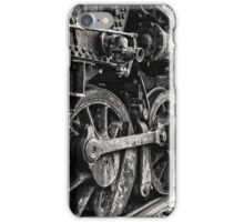 On Track in Black and White iPhone Case/Skin
