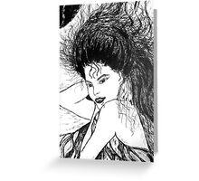 Lovely Vampire Greeting Card