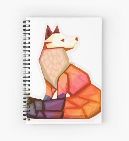 Citrine Fox Spiral Notebook
