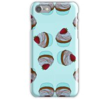 Cupcakes Pattern -By Ana Canas iPhone Case/Skin