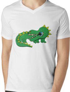 The Baby Dragon Mens V-Neck T-Shirt