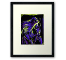 War Horse Framed Print