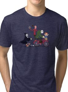 Horror Night Off Tri-blend T-Shirt