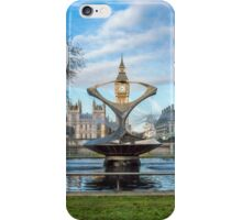 Water Fountain and Big Ben iPhone Case/Skin