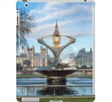 Water Fountain and Big Ben iPad Case/Skin
