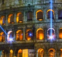 Coliseum at Night Sticker