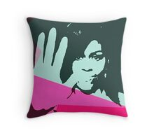 Michelle Obama Superstar Throw Pillow