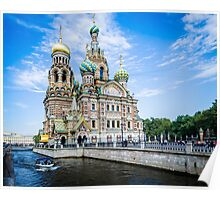 Church of the Spilled Blood Poster