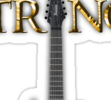 Lord of the Strings (color) Sticker