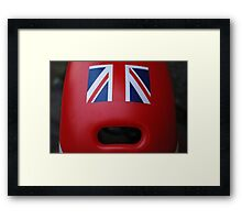 The face of Britain Framed Print