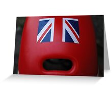 The face of Britain Greeting Card