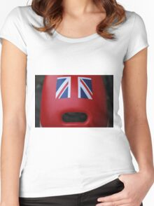 The face of Britain Women's Fitted Scoop T-Shirt