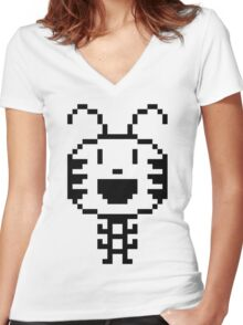 Magic Insect Women's Fitted V-Neck T-Shirt