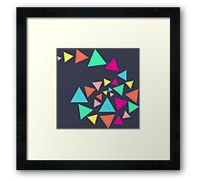 Triangle Heaven Framed Print