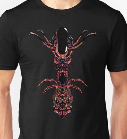 Psychedelic Alien Shamanic  Indians Totem Unisex T-Shirt